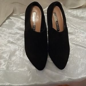 Audrey Brooke black bootie. Size 7 1/2.
